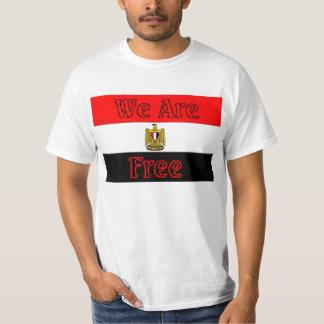 Het Overhemd van Egypte - wij zijn vrij T Shirts