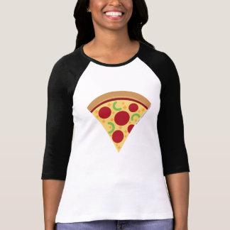 Het Overhemd van Emoji Longsleeve van de Pizza van