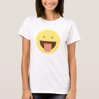 Het Overhemd van Emoji van de glimlach T Shirt