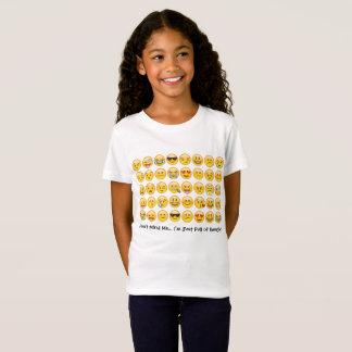 Het Overhemd van Emoji voor Kind T Shirt