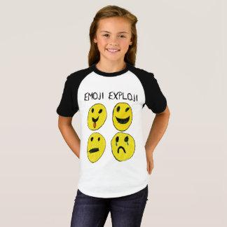 Het Overhemd van Exploji van Emoji T Shirt
