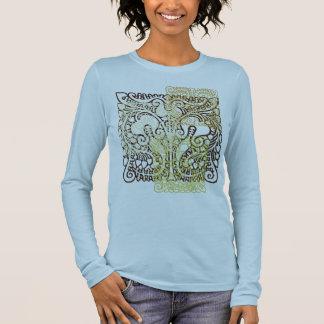 Het Overhemd van het Blok van het brokaat T Shirts