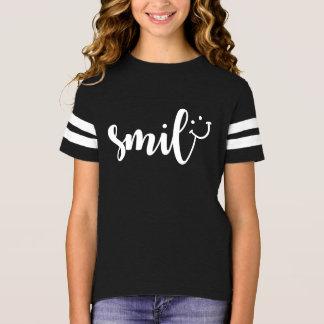 Het Overhemd van het Football van de Meisjes van T Shirt