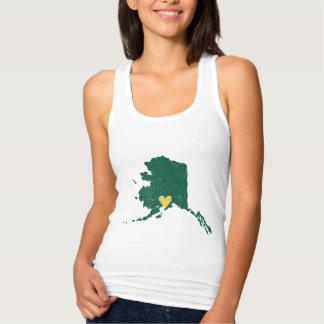 Het overhemd van het Hart van Alaska Tanktop