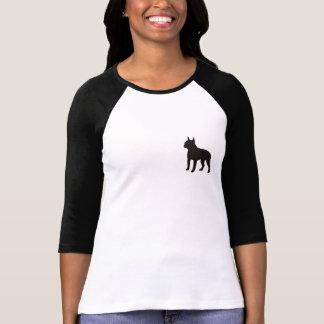 Het Overhemd van het Honkbal van Boston Terrier T Shirt