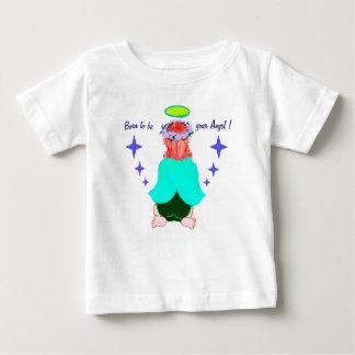 Het Overhemd van het kind: Geboren uw engel te Baby T Shirts