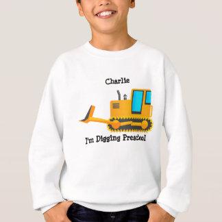 Het Overhemd van het Kind van de bulldozer Trui