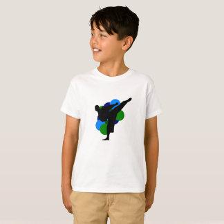 Het Overhemd van het Kind van vechtsporten met T Shirt