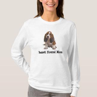 Het Overhemd van het Mamma van Basset Hound T Shirt