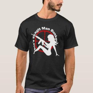 Het Overhemd van het Man van de Bunker van het man T Shirt
