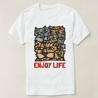 """Het Overhemd van het Mannen """"geniet van van het T Shirt"""