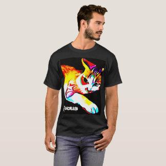 Het Overhemd van het Mannen van de Kat van de T Shirt