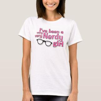 Het overhemd van het Meisje van Nerdy T Shirt