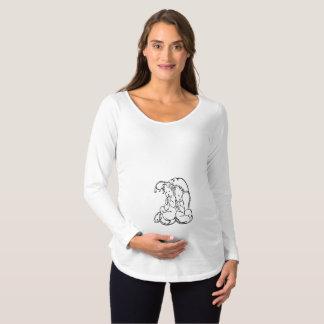 Het Overhemd van het Moederschap van tweelingen - Zwangerschapskleding