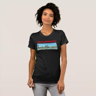 Het Overhemd van het Panorama van Shanghai T Shirt