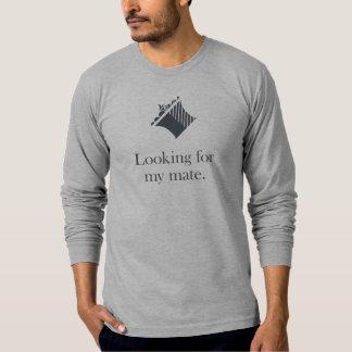 Het Overhemd van het schaak: Zoekend mijn Partner T Shirt