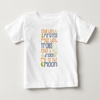 Het Overhemd van het Sprookje van Little Boy Baby T Shirts