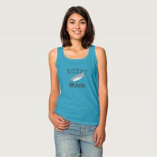 Het Overhemd van het Strand van Scituate Egypte Tanktop