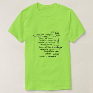 Het Overhemd van het T-shirt van Cajun Louisiane