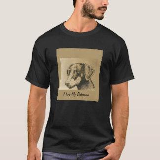 Het Overhemd van het T-shirt van Doberman op
