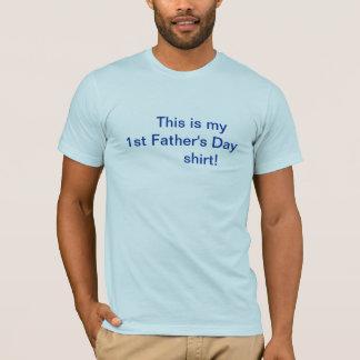 Het Overhemd van het vaderdag/eerst T Shirt