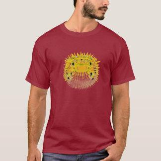 Het overhemd van kerels blowfish t shirt