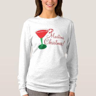 Het Overhemd van Kerstmis van Martini van de vrouw T Shirt
