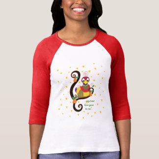 """Het Overhemd van Kerstmis van vrouwen """"Mijn ware T Shirt"""