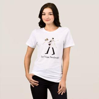 Het Overhemd van Las Vegas van de Jonggehuwden T Shirt