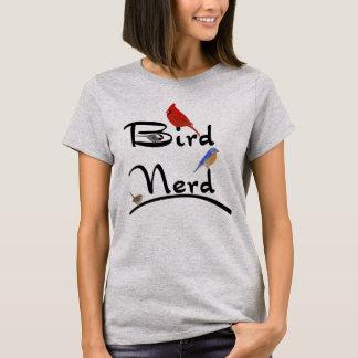 Het Overhemd van Nerd van de vogel T Shirt