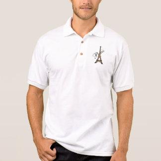 Het Overhemd van Parijs Eiffel Polo