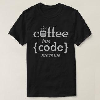 Het overhemd van programmeurs t shirt