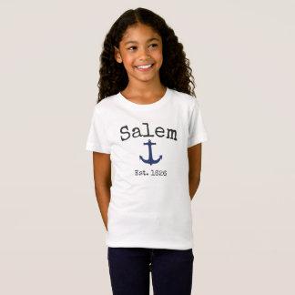 Het overhemd van Salem Massachusetts voor meisje T Shirt