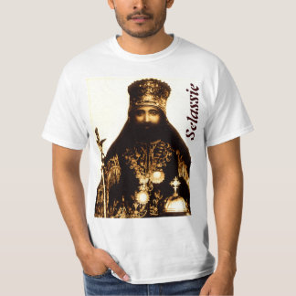 Het Overhemd van Selassie Selassie van de koning T Shirt