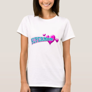 Het Overhemd van Supermom T Shirt