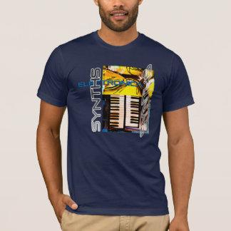 Het Overhemd van Synths van Electronica T Shirt