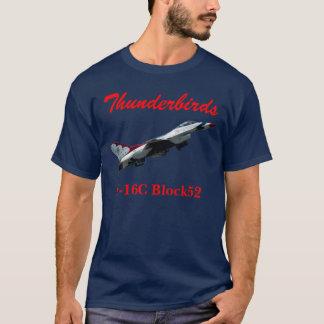 Het Overhemd van Thunderbirds F-16C Block52 T Shirt