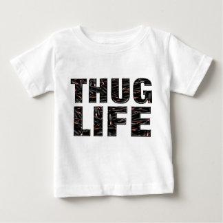 Het Overhemd van Tod van de misdadiger Baby T Shirts