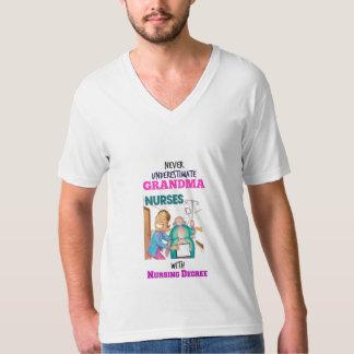 HET OVERHEMD VAN VERPLEEGSTERS GRANMA… Beperkte T Shirt