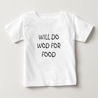 Het Overhemd van XFit van het baby Baby T Shirts