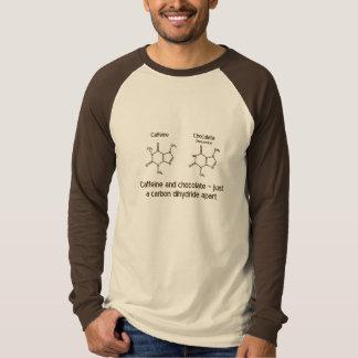 Het overhemdsontwerp van de cafeïne en van de t shirt