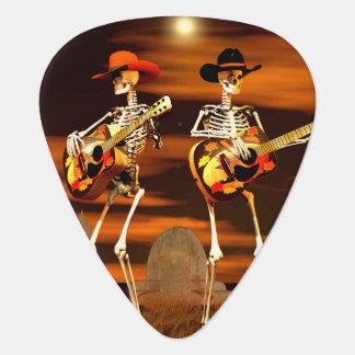 Het Overleg van het Skelet van Halloween Plectrum