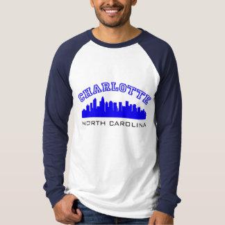 Het Overzicht van Charlotte NC T Shirt