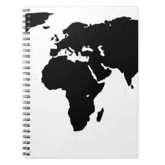 Het Overzicht van de wereld Ringband Notitieboek