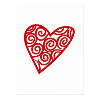 Het Overzicht van het hart Briefkaart