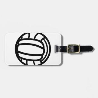 Het Overzicht van het volleyball Bagagelabel