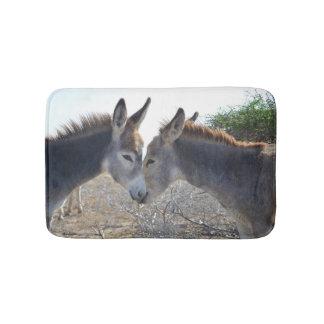 Het Paar van de ezel in Aruba Badmat