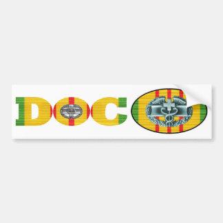 Het Paar van de Sticker van Doc. van de Dokter van