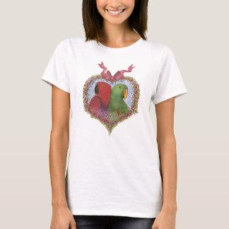 Het Paar van Eclectus T Shirt