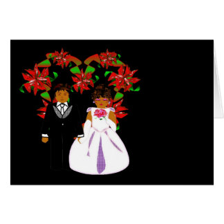 Het Paar van het Huwelijk van Kerstmis met de Kroo